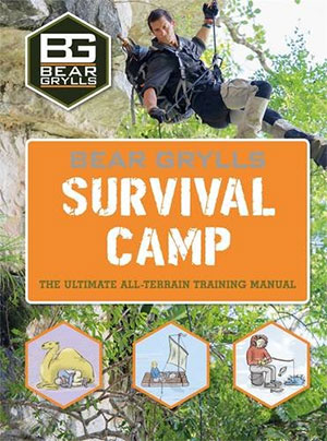 Bear Grylls book of Adventure Survival guides Camp book on trekking usa guide to hiking America book