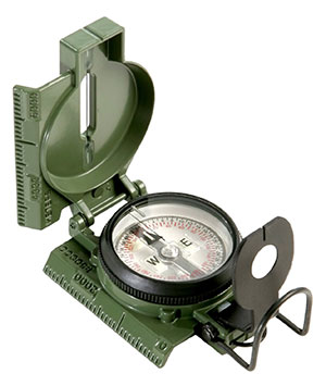 Cammenga Official US Miltary Tritium Lensatic Compass Clam Pack by Cammenga camping things to take trekking gps navigation