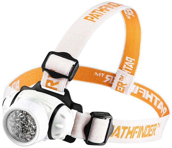 PATHFINDER 21 LED best Headlamps for trekking Headlight for camping things to bring to a festival headtorch