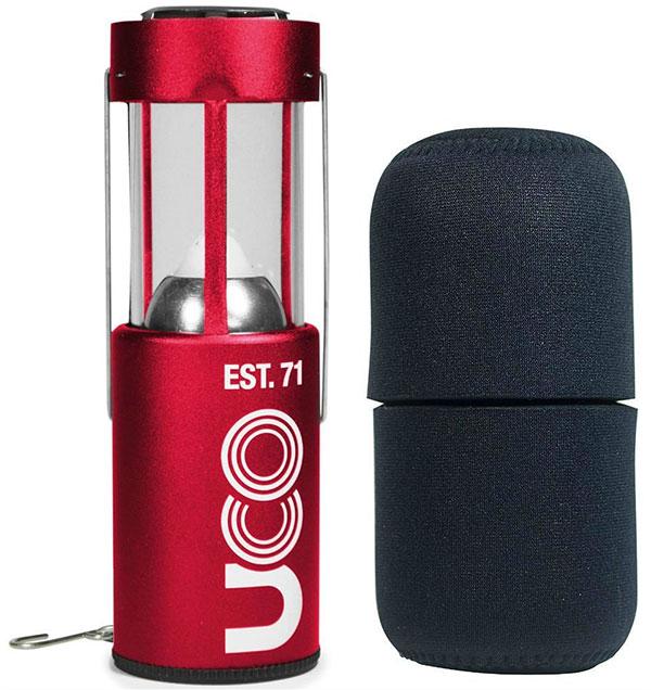 UCO 9 Hour Original Collapsible Candle Lantern camping things to take hiking best camping lanterns
