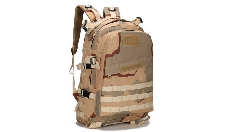 Best medium sized Rucksacks - Wocharm Military Backpack Review