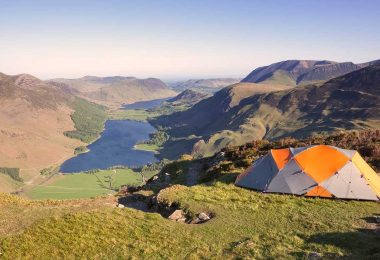 best wild camping sites in UK hiking latest equipment for trekking England campsites in scotland