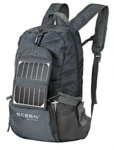 eceen solar powered hiking daypack for hiking solar power rucksack with solar panel for backpacking review