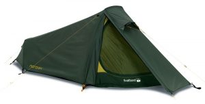 nordisk Svalbard 1 person tunnel tent for backpacking tube tent best one man tent for hiking