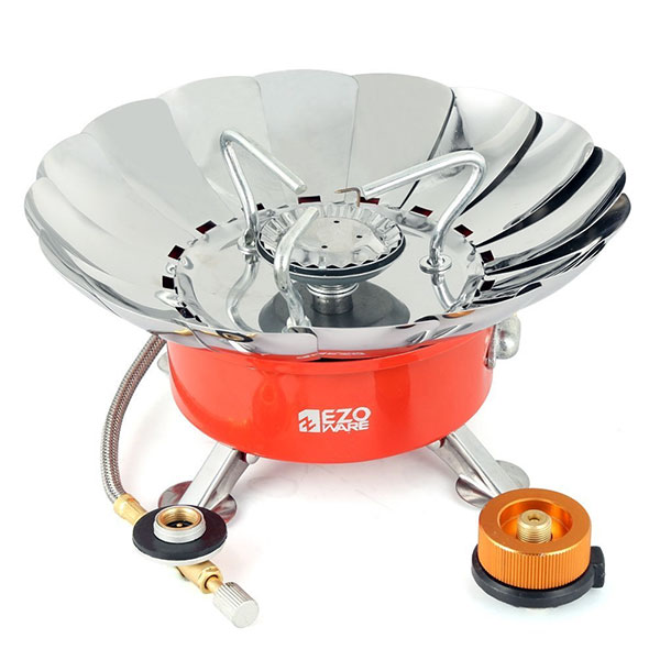 Lightweight Backpacking Stoves: Best Gas Camping Stove Ezoware Cooker For Trekking