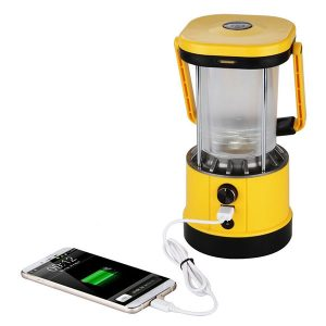 Excelvan SL01 Led Camping Lantern for hiking Light with USB Phone Charging lantern for 2 man tent