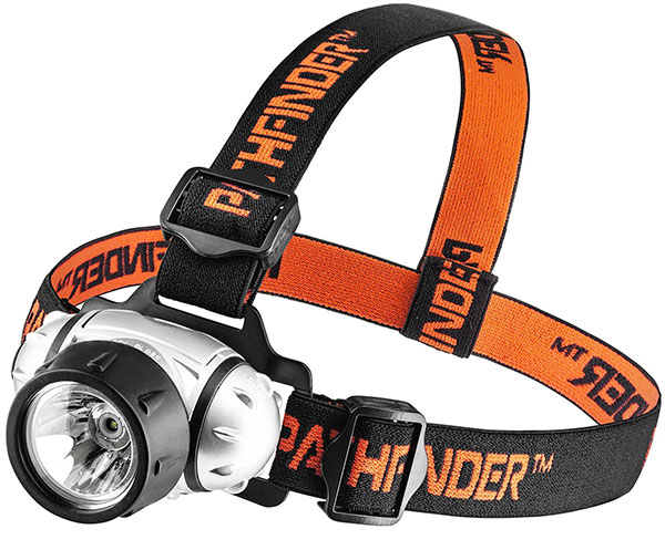 PATHFINDER XP E Q4 CREE LED Headlamp for trekking Headlight for camping things to take hiking best headlamps