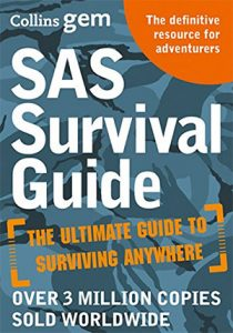 SAS Survival Guide on How to Survive in the Wild hiking book on survival guide to trekking USA hiking book