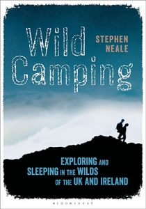 Wild Camping books for Exploring and Sleeping in the Wilds of the UK and Ireland camping book of wild campsites
