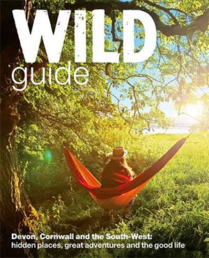 Wild Guide to camping in Devon campsites in Cornwall and South West campsite books to pack for trekking uk