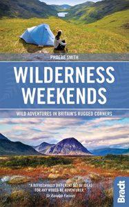 Wilderness Weekends camping book on Wild adventures in Britain camp sites in UK campsites
