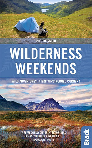 Wilderness Weekends camping book on Wild adventures in Britain campsites in UK campsite books