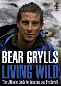 bear grylls book living wild fieldcraft book scout books on survival guide to field craft book for scouts
