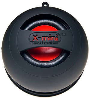 X Mini II 2nd Generation Capsule Speaker camping things to pack for a festival camping bluetooth speakers