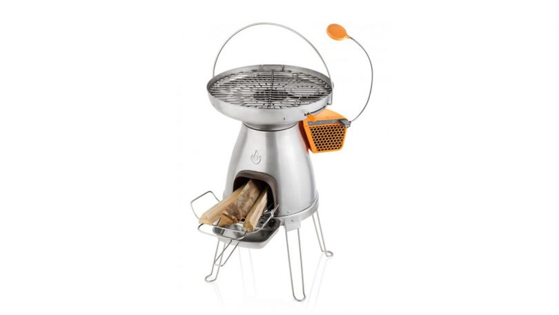 BioLight BaseCamp USB cooker with FlexLight camp cooking stove for trekking camping things to pack for cooking