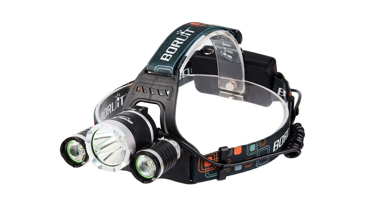 Borlite LIGHT 5000 Lumen CREE XM L XML 3 x T6 LED Headlight