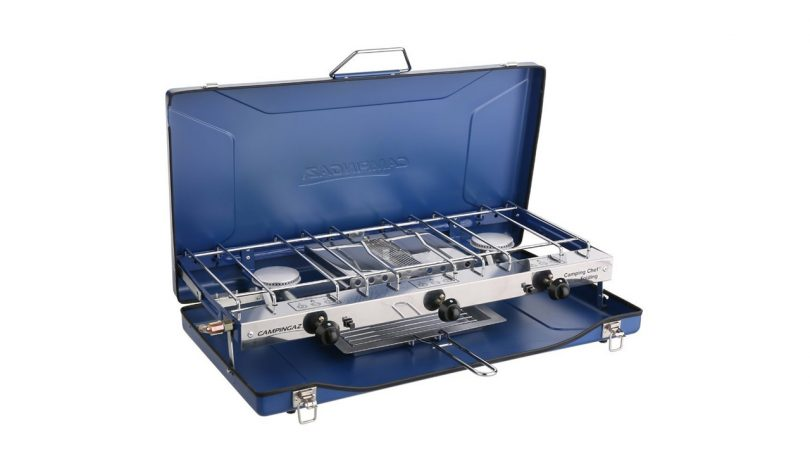Campingaz Chef Stove and Grill camp cooking sets camping things to take for cooking on campsite