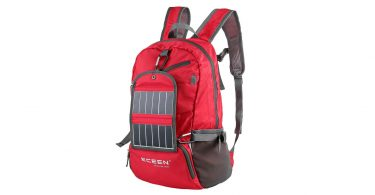 ECEEN Solar Powered Hiking Daypacks with 3.25 Watts Solar Charger for Hiking camping things to pack for Backpacking