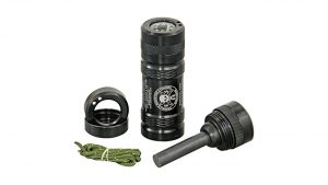 ESEE Fire Kit with Compass ADVFIREKIT Ferro Rod Water Proof Capsule camping things to pack in backpack
