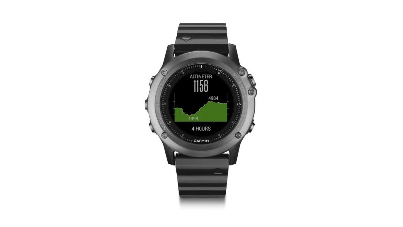 Garmin Fenix 3 Sapphire GPS Multisport Watch with Outdoor Navigation camping things to bring in backpack