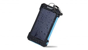 Innoo Tech Solar Power Bank Energy Charger camping things to take to a festival