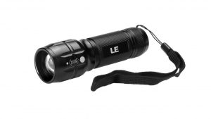 LE Adjustable Focus LED Torch Super Bright Zoomable LED Flashlight camping things to bring in backpack