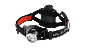 Ledlenser H7R2 Rechargeable Professional LED Head Lamp camping things to put in backpack