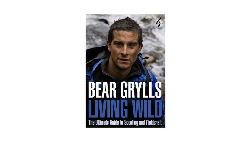 Living Wild Guide to Scouting Fieldcraft book bear grylls camping things to take hill walking