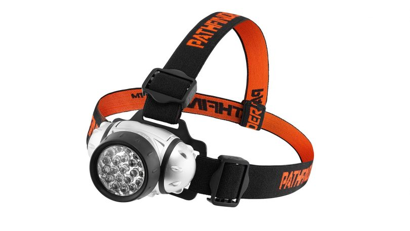 PATHFINDER 21 LED Headlamp Headlight Lightweight Comfortable and Weatherproof camping things to take fishing
