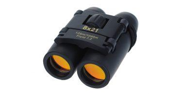 Yiran 30x60 Compact Binoculars to take hiking Folding Telescope camping things to bring walking