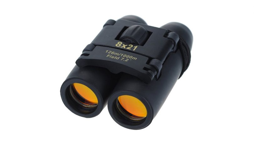 Yiran 30x60 Compact Binoculars to take hiking Folding Telescope camping things to bring walking