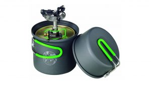 camp cook Optimus Crux Lite Camping Stove with Terra Solo Cooking Set camping things to take trekking stoves