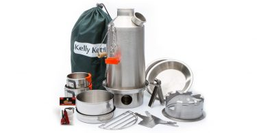 campfire cooking Ultimate Base Camp Kelly Kettle Kit kitchen sets camping things to take camp cooking