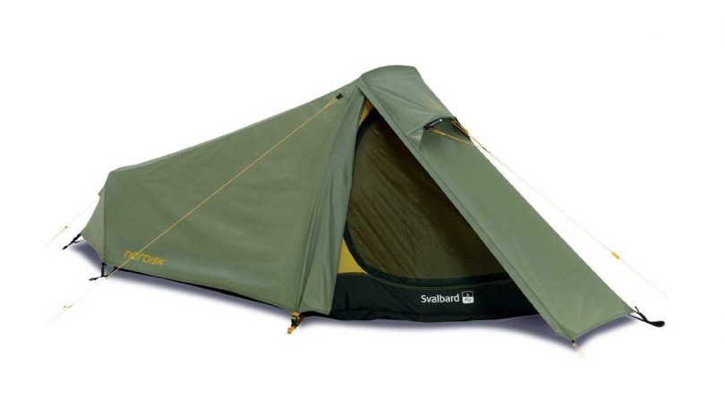 Best ONE man tents camping things to take camping equipment Nordisk Svalbard 1 PU Tent for hiking