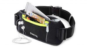 Top 5 SMALL day bags and waist packs FREETOO Bumbag Running Belt Waistpack Fanny Pack Money Belt for Traveling