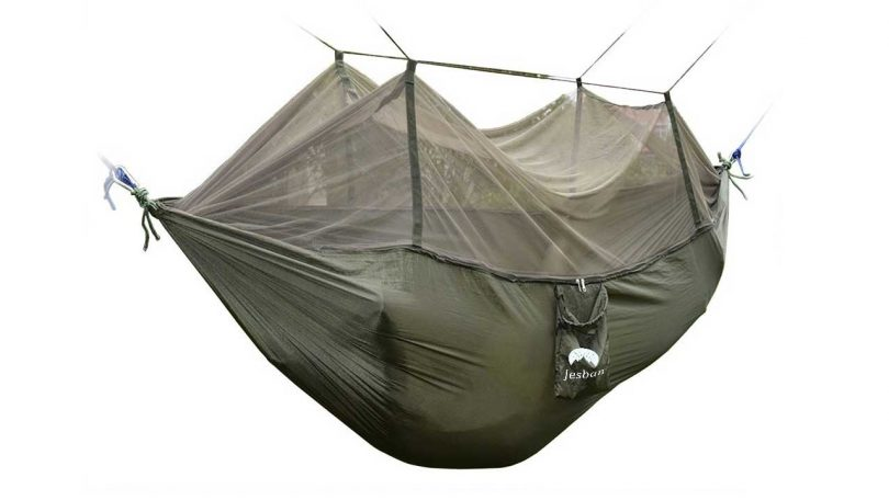 Top 5 Best Camping Hammocks camping things gear to pack for trekking Portable Camping Hammock Parachute Nylon Fabric