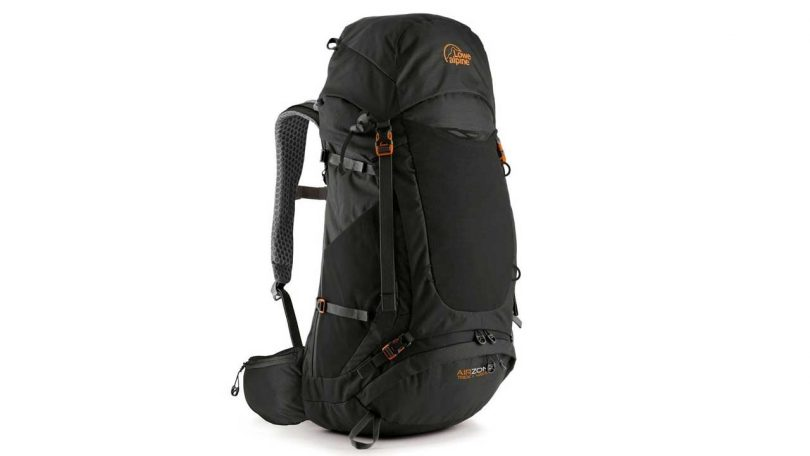 Best LARGE Backpack & Rucksacks up to 75L camping things to bring in backpack Lowe Alpine Airzone Trek Backpack 45 +10