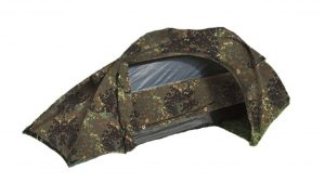 Best ONE man tents camping things to take hiking Mil tec One Man Flecktarn Recon Tent for trekking
