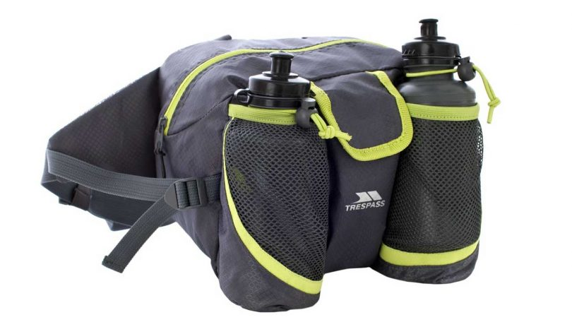 Top 5 SMALL day bags and waist packs camping things to take trekking Trespass Waikaka Bumbag for hiking