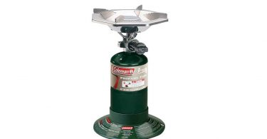 Coleman PefectFlow 1 Burner Stove camping things to take for camp cooking gas stove