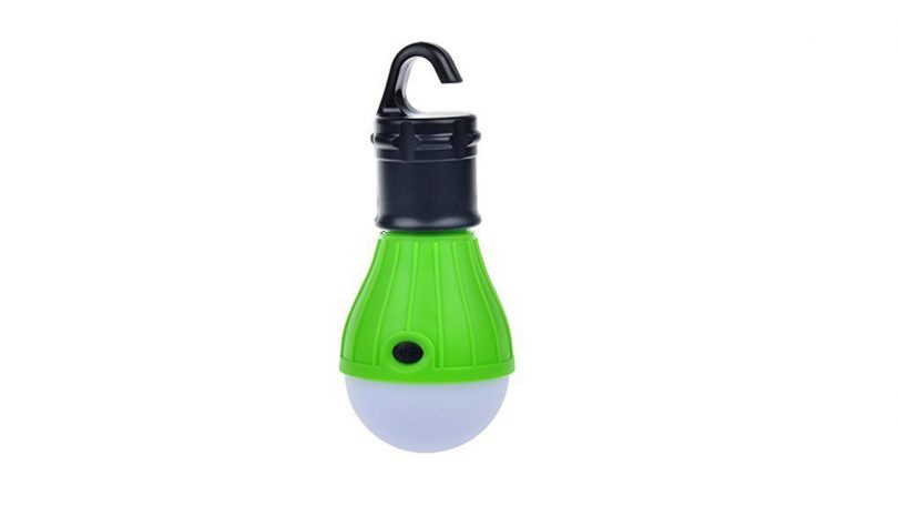 tent light bulb 1200 Lumen Travel Hanging lantern LED Light Bulb Camping things lights I need to pack for Fishing