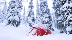 wild camping in sweden and Norway trekking to polar lights northern lights trips camping things to pack